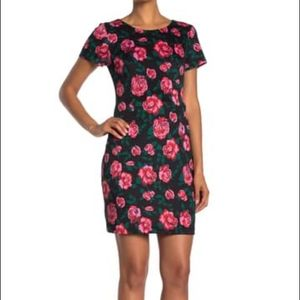 Betsey Johnson Vintage Bloom Scuba Dress